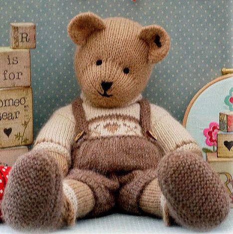 Knitting Pattern for Romeo Bear