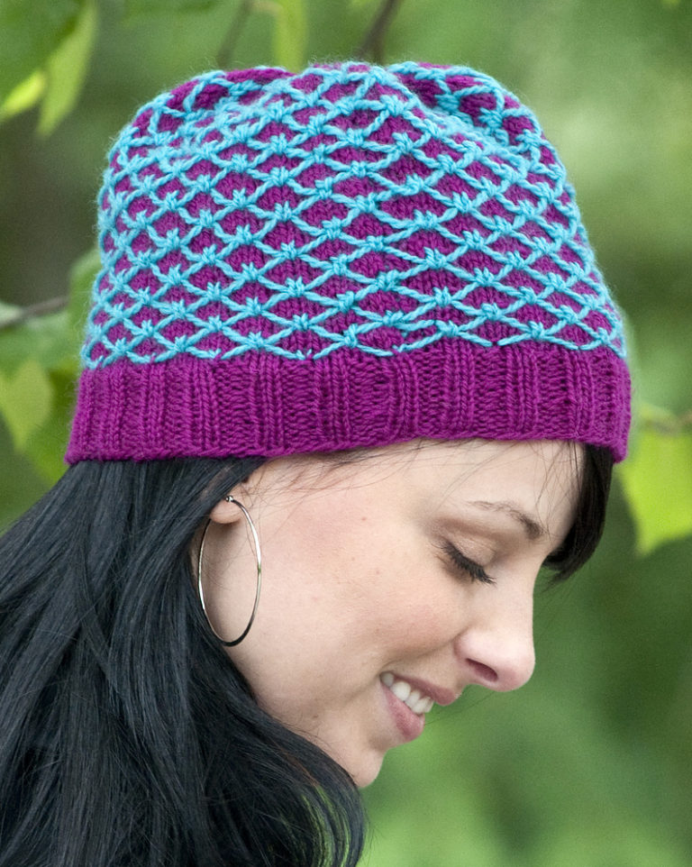 Free Knitting Pattern for Royal Quilting Hat