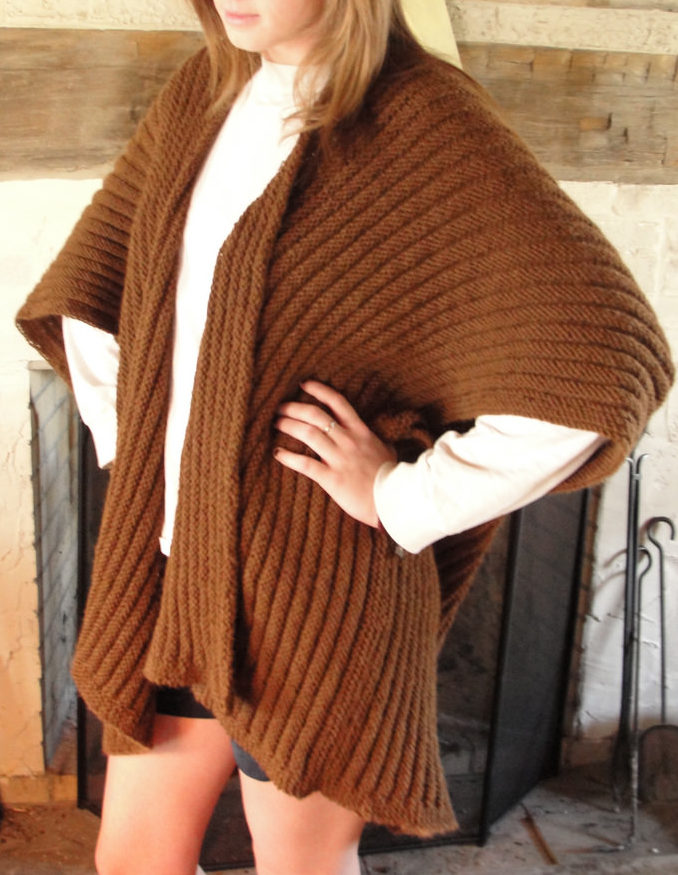 Sweater Wrap Knitting Patterns In The Loop Knitting