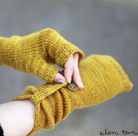 Free Knitting Pattern for Rye Mitts