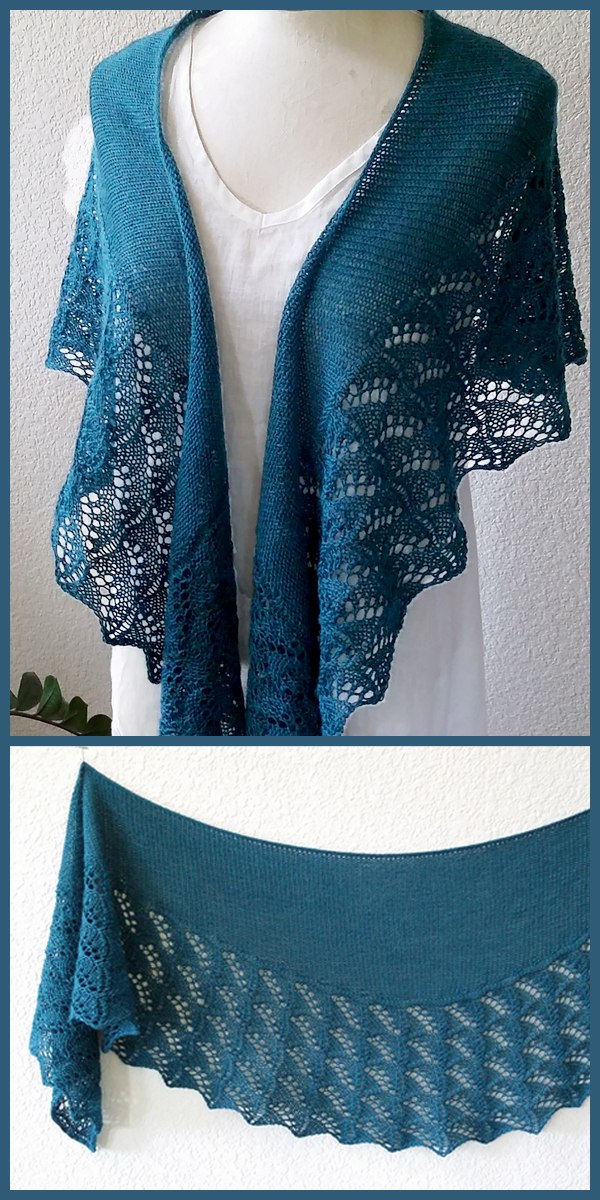 Knitting Pattern for San Gabriel Shawl