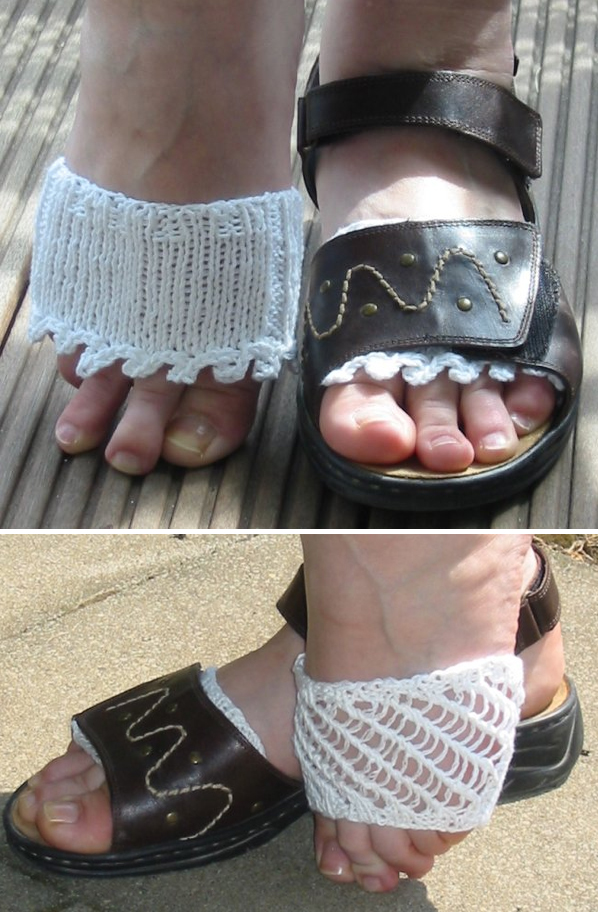 Free Knitting Patterns for Sandal Liners