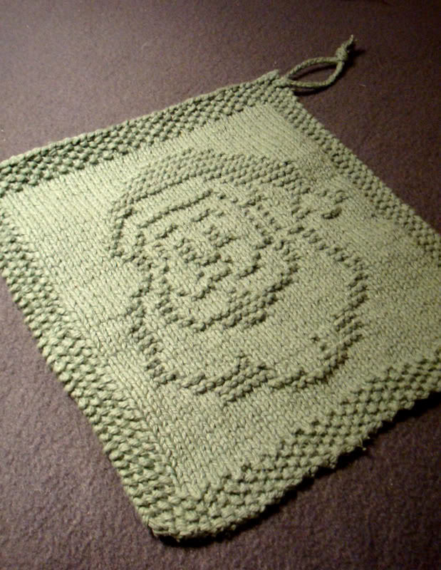 Dishcloth and Washcloth Knitting Patterns- In the Loop Knitting