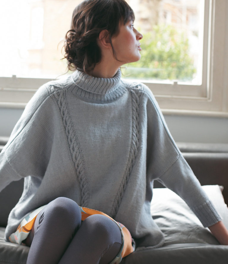 Free Knitting Pattern for Sasha Sweater
