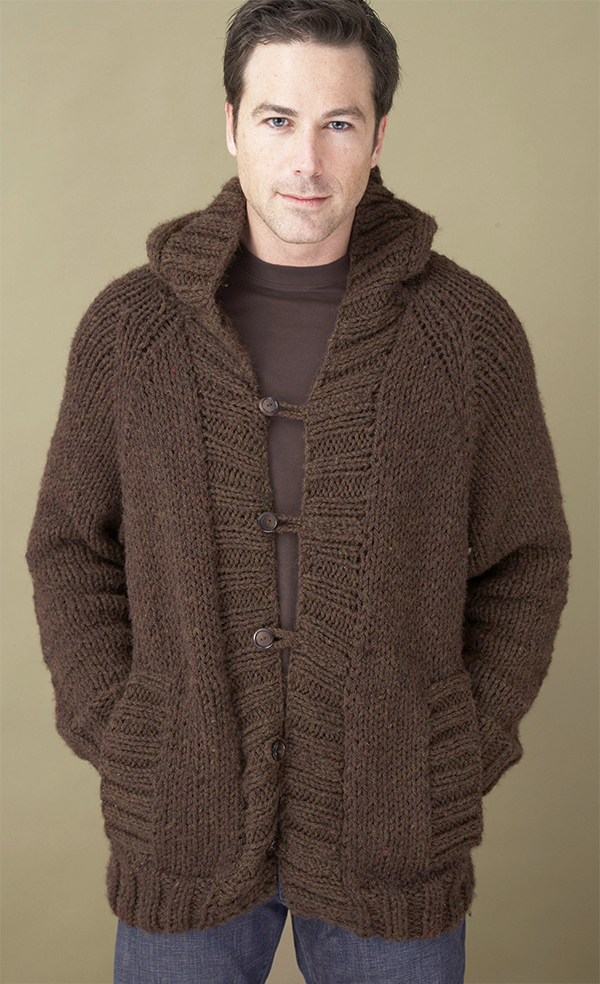 Free Knitting Pattern for Saturday Morning Hoodie