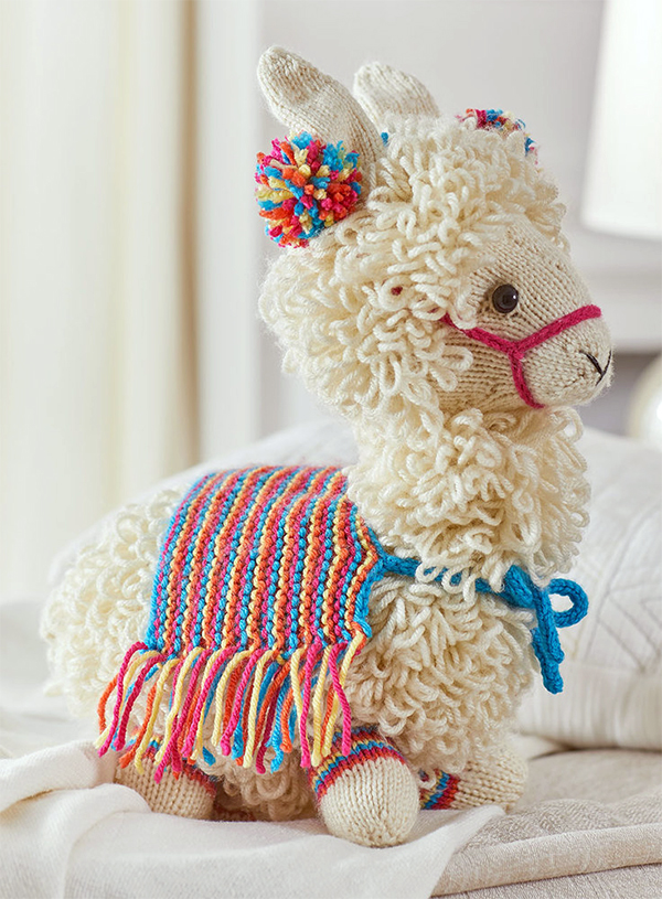 Free Knitting Pattern for Llama