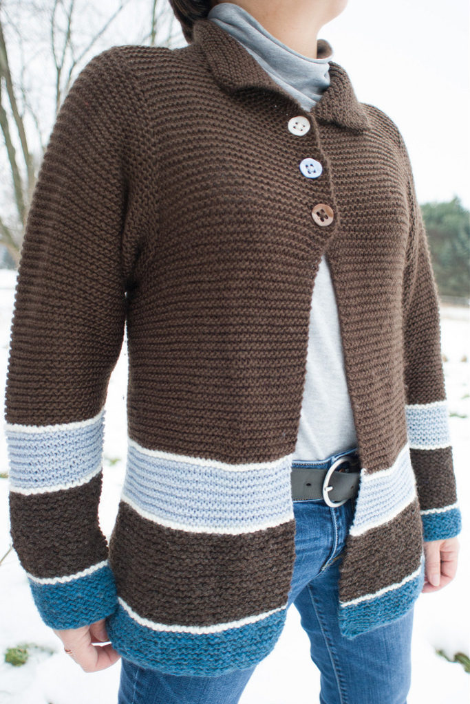 Free Knitting Pattern for Sawtelle Cardigan