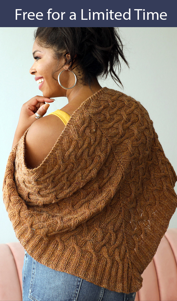 Knitting Pattern for Scapolite Shawl