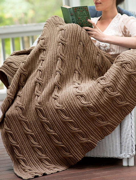 Free Knitting Pattern for Schuyler Afghan