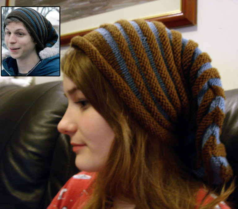 Knitting Pattern for Scott Pilgrim Hat (The Original Costume Pattern)