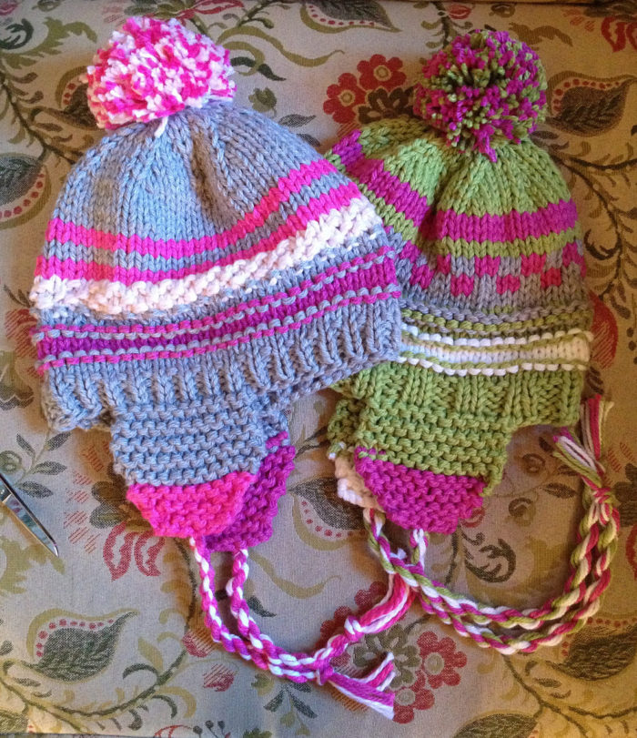 Free Knitting Pattern for Scrap Happy Hat