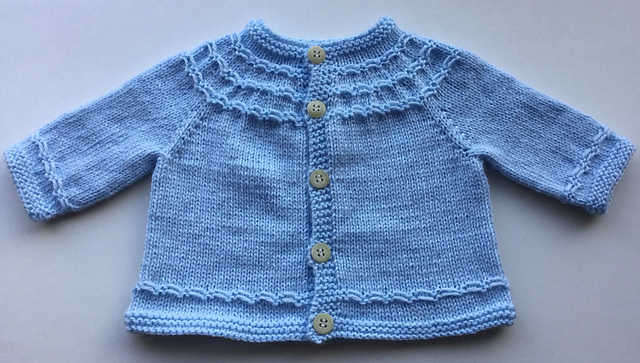 597847551fce Baby Cardigan Sweater Knitting Patterns - In the Loop Knitting