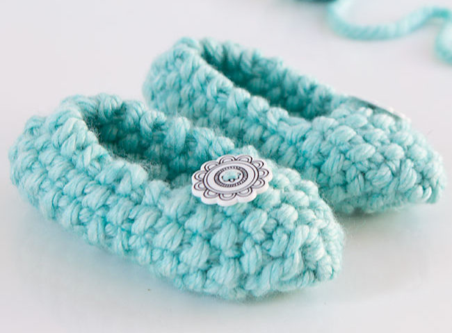Free Knitting Pattern for Seed Stitch Slippers