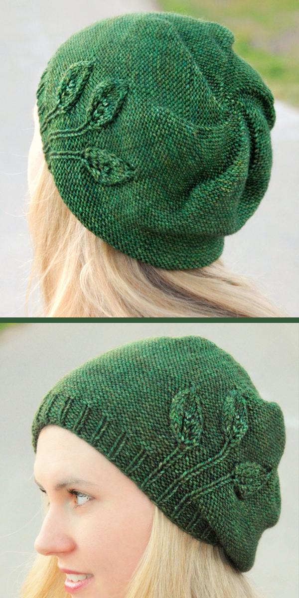 TreasuresByFamily Slouch Knit Beanie