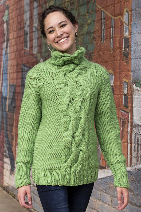Free Knitting Pattern for Sequoia Sweater