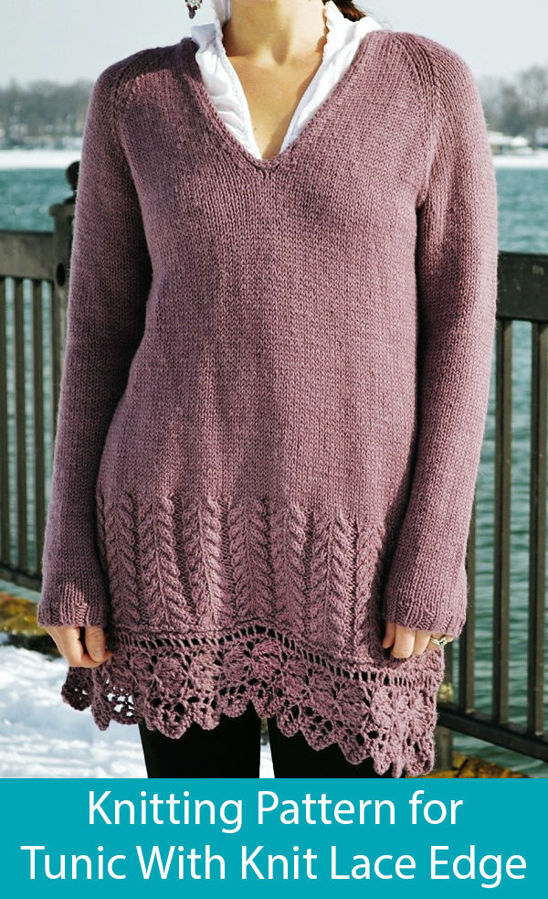 Knitting Pattern for Seraphina Tunic