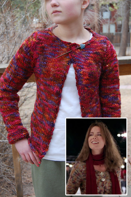 Knitting Pattern for Serendipity Cardigan