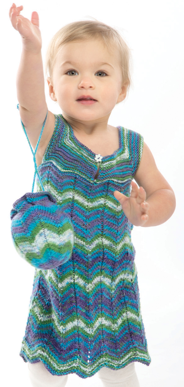 Dresses and Skirts for Babies and Children Knitting Patterns - In ...