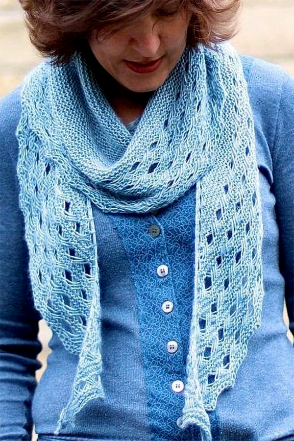 Knitting Pattern for Settler Shawl