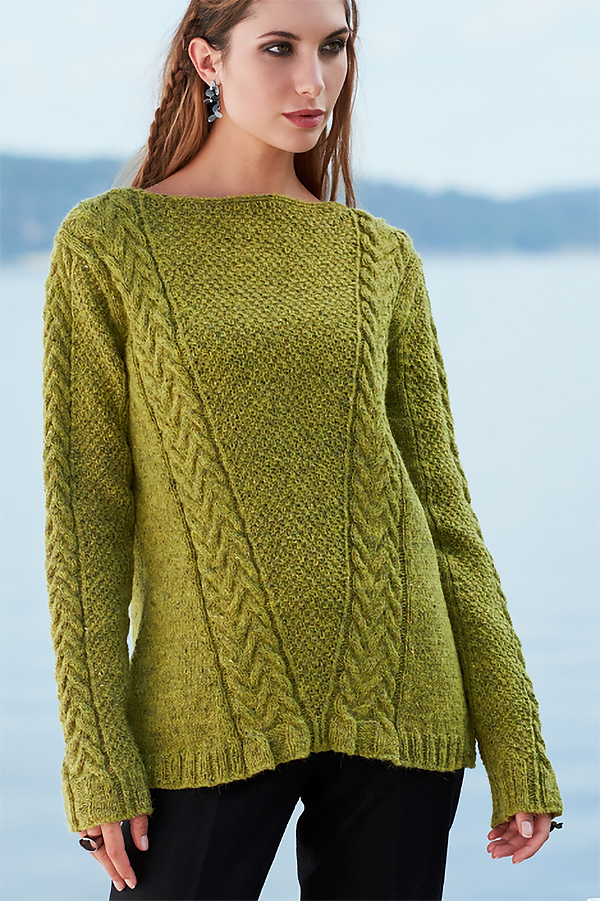 Knitting Pattern for Shalana Pullover