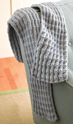 Free knitting pattern for Shale Pleated Scarf and more scarf knitting patterns