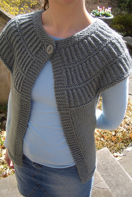 Short Sleeve Cardigan Knitting Patterns - In the Loop Knitting