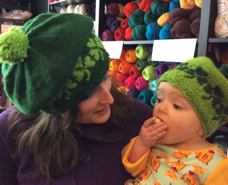 Knitting Pattern for Shamrock Tams