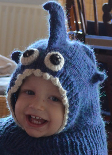 Free Knitting Pattern for Shark Baby Hat
