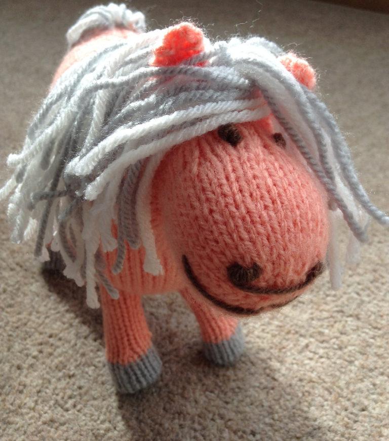 48f225750d8 Free Knitting Pattern for Shetland Pony