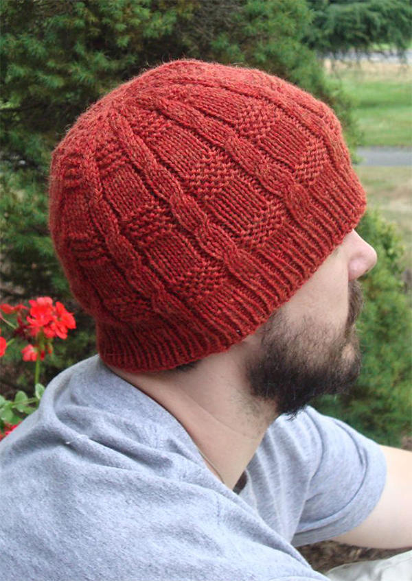 Free knitting Pattern for Shilling Hat for Whole Family