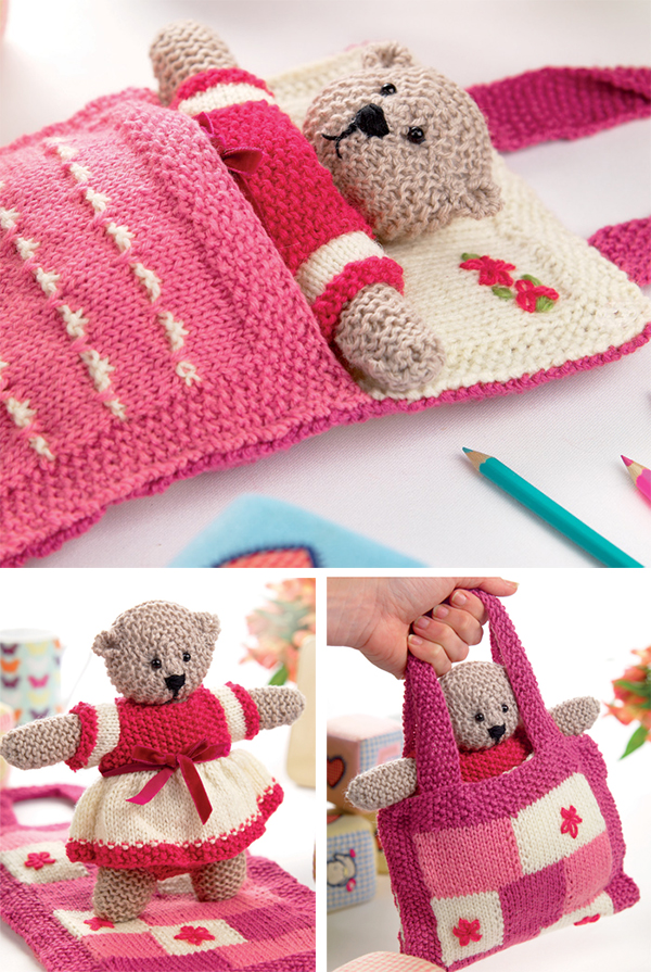 Knitting Pattern for Shirley Bear