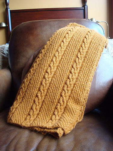 Cable Afghan Knitting Patterns - In the Loop Knitting