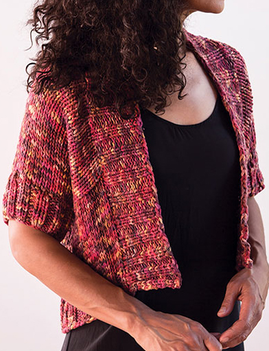 Knitting Pattern for Quick Sibilla Cardigan
