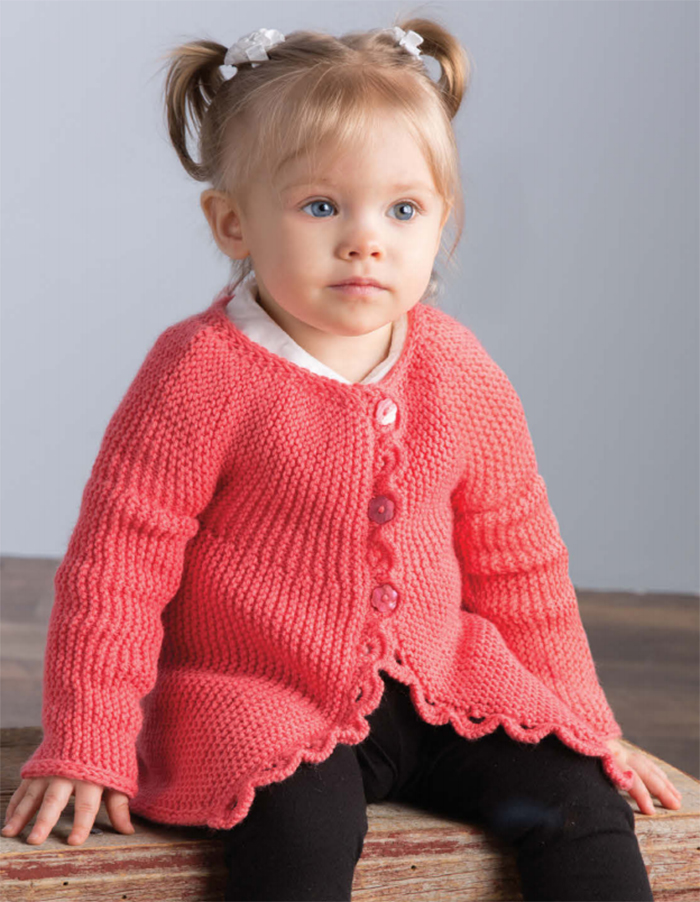 6304f1fcd Baby Cardigan Sweater Knitting Patterns - In the Loop Knitting