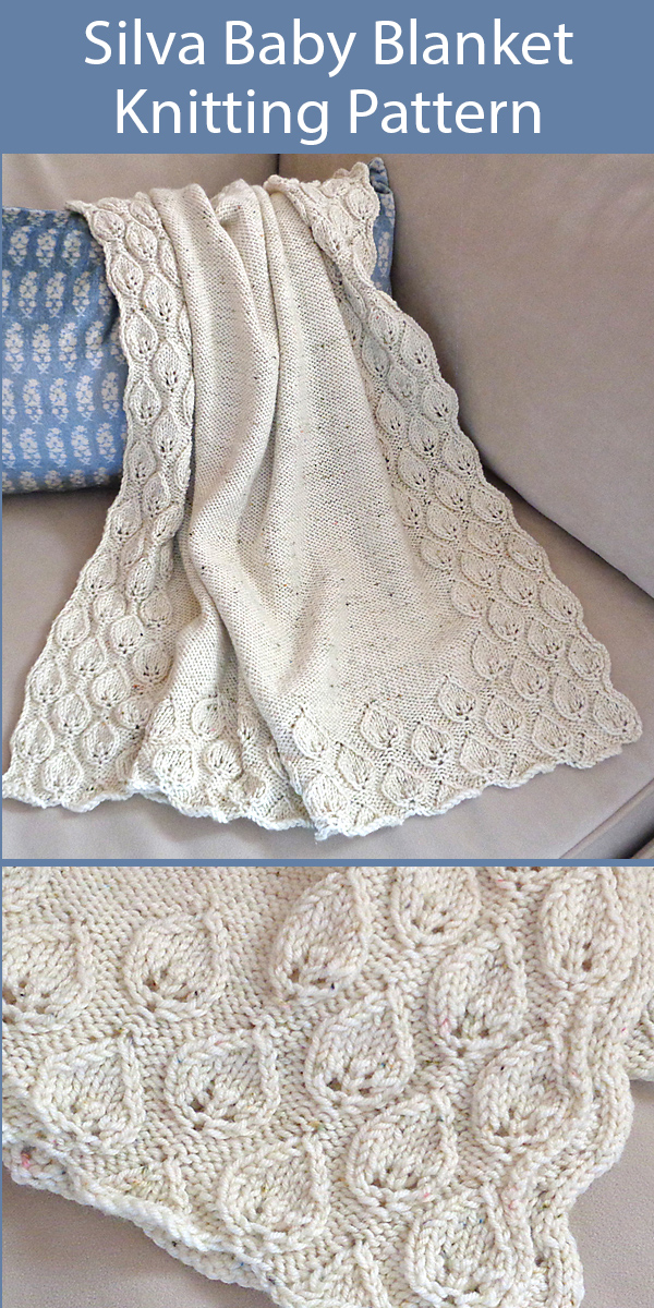 White knit blouse with two needles point fantasy embossed