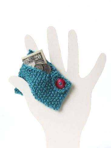 Free knitting pattern for coin purse