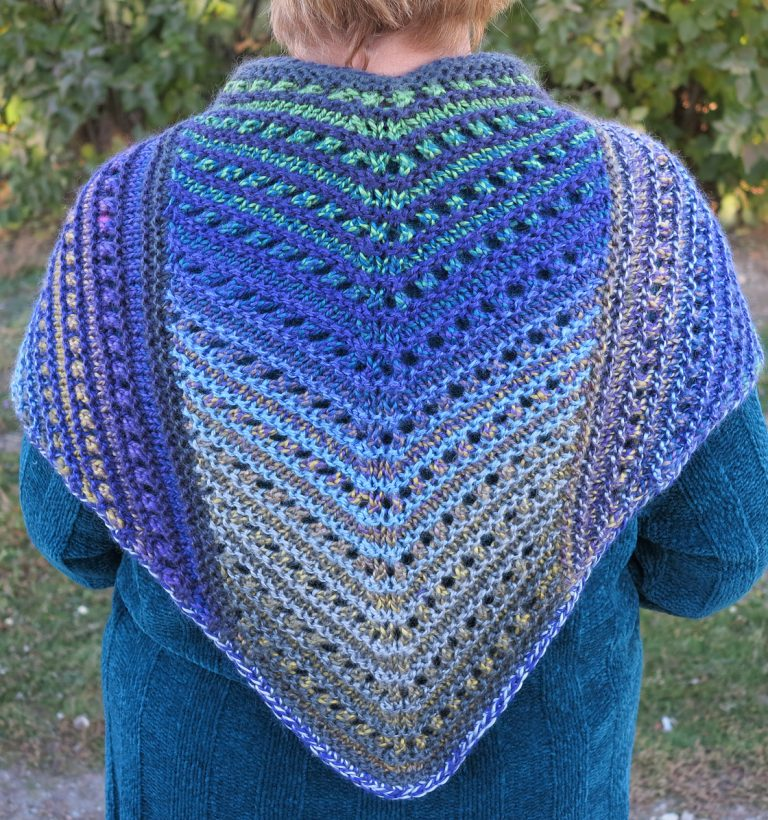 Shawls for Bulky Yarn Knitting Patterns - In the Loop Knitting
