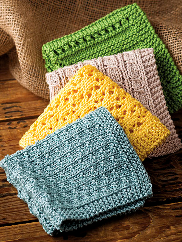 Knitting Pattern for Simply Washcloths
