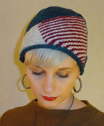 72b6271983a Free knitting pattern for Sitting Pretty Cloche Hat