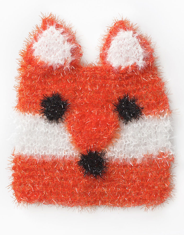 Free Knitting Pattern for Sly Fox Scrubby