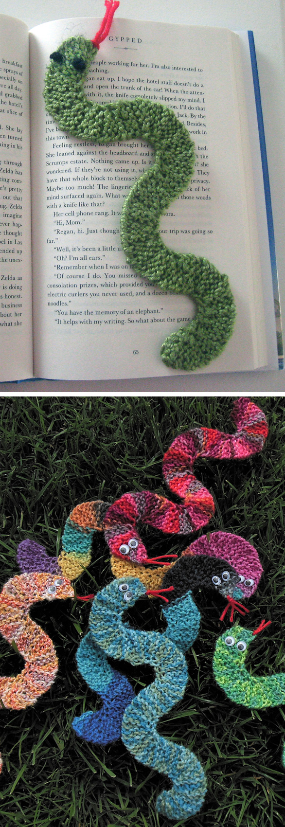 Bookmark Knitting Patterns In The Loop Knitting