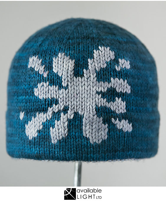 Knitting Pattern for Snowball Fight Hat