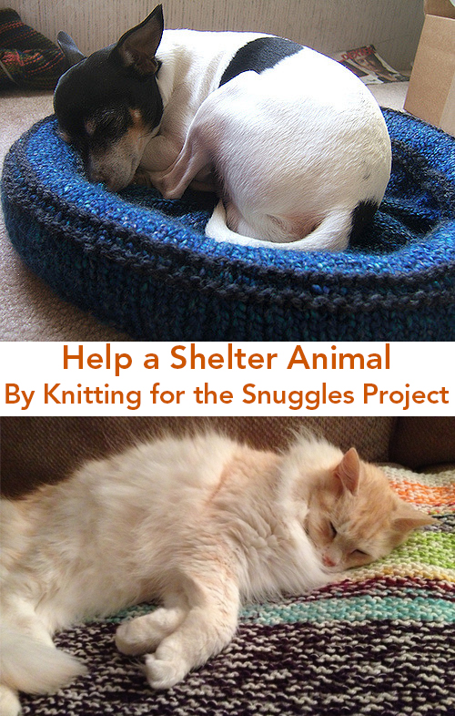 Free Knitting Patterns for the Snuggles Project