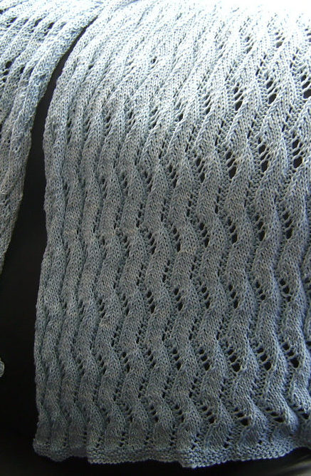 Free Knitting Pattern for Solstice Stole