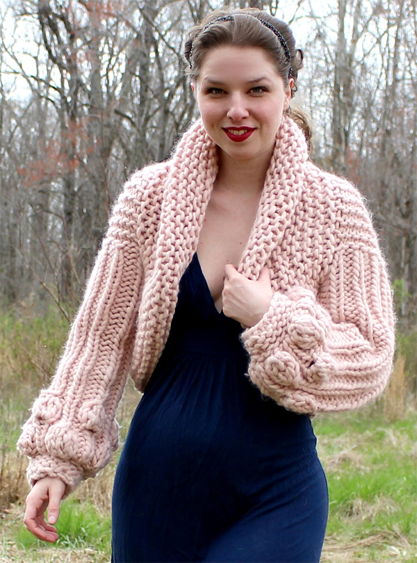 Knitting Pattern for Sophia Cardigan