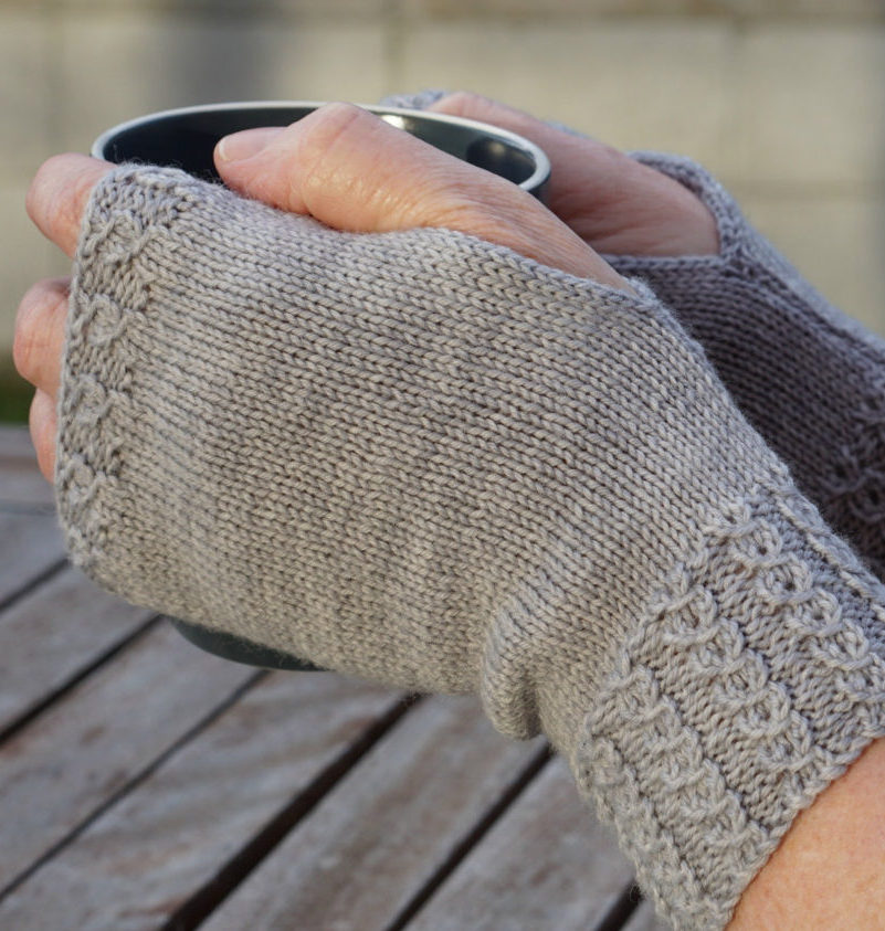 Knitting Pattern for Soul of Ahuriri Fingerless Mitts