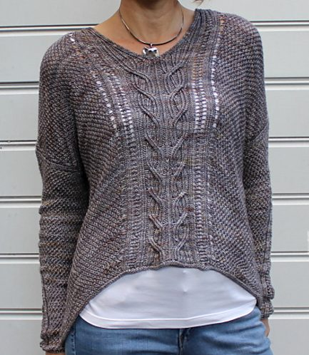 Knitting Pattern for Sous Sous Top