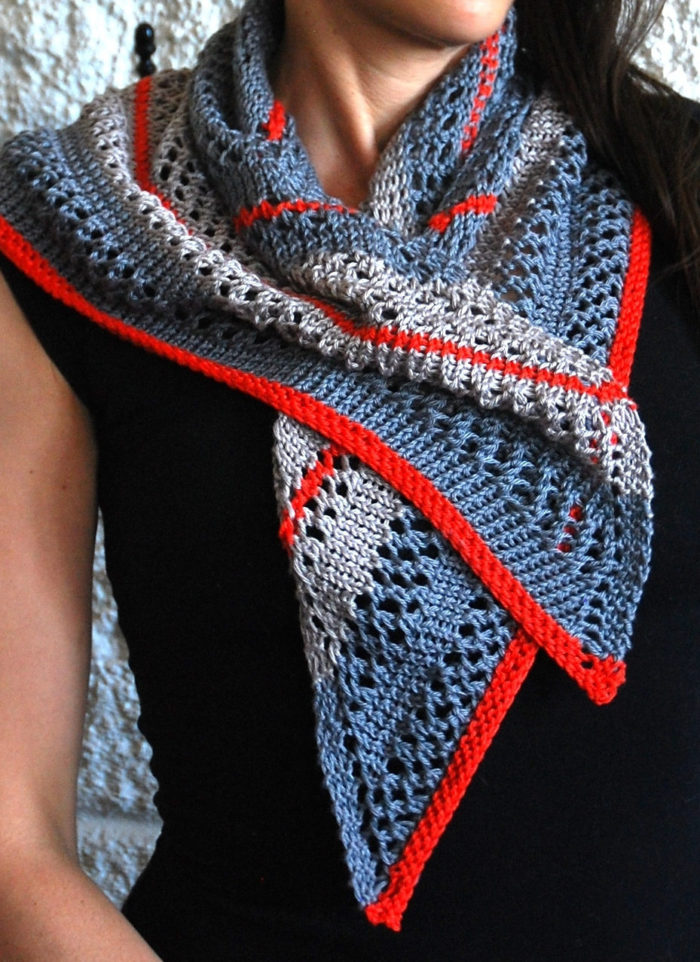 Knitting Pattern for Easy South Beach Scarf