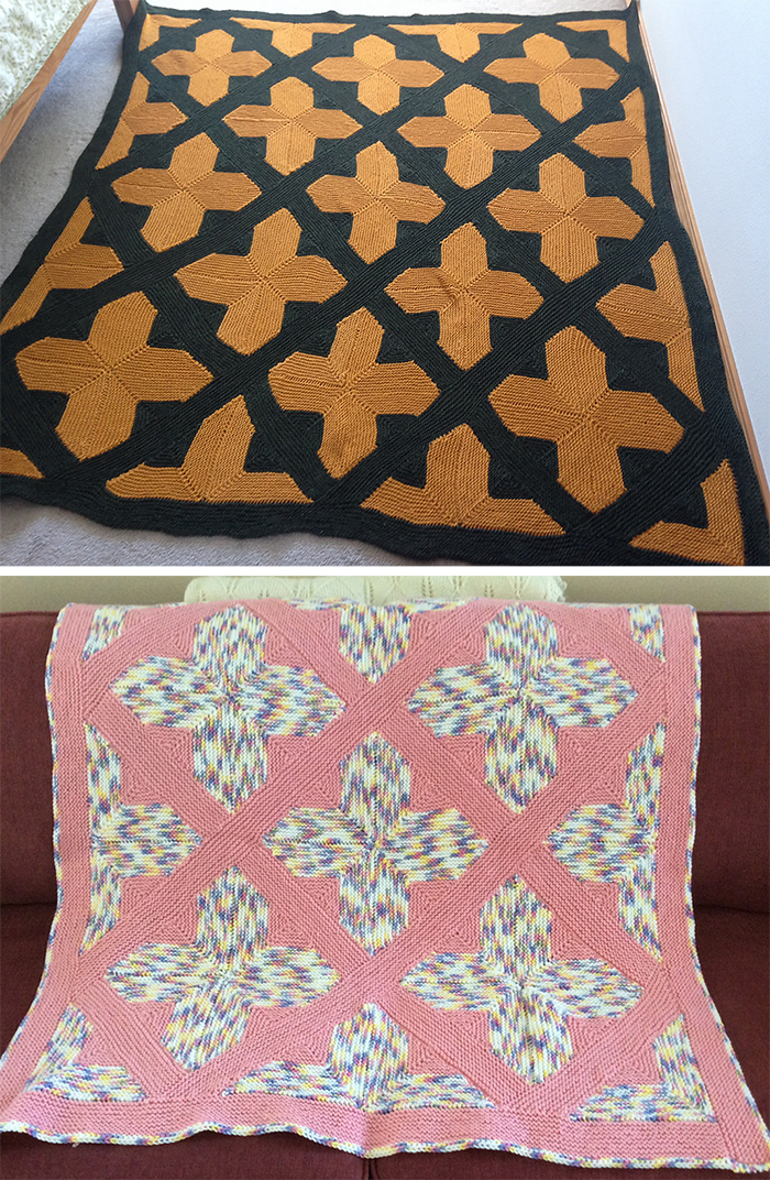 Free Knitting Pattern for Southern Cross Afghan