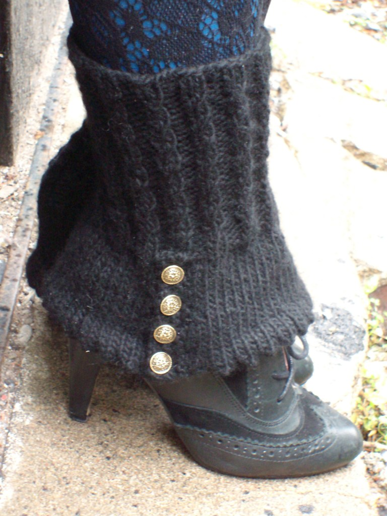 Free Knitting Pattern for Spick and Spats